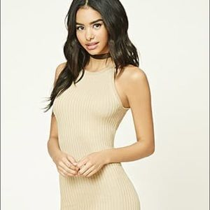 ⭐️NWT⭐️ Forever 21 Ribbed Bodycon Dress